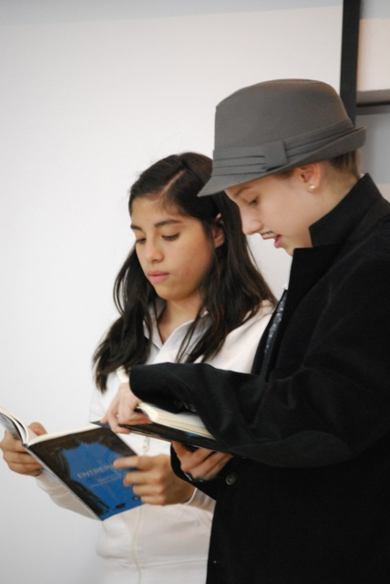 lectura en atril, expresión oral, Miguel de Cervantes