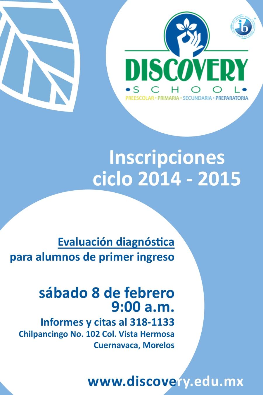 Inscripciones 2014-2015